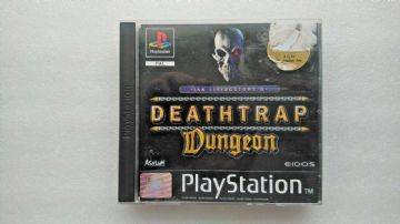 Vintage Deathtrap Dungeon (Sony PlayStation 1, 1998)